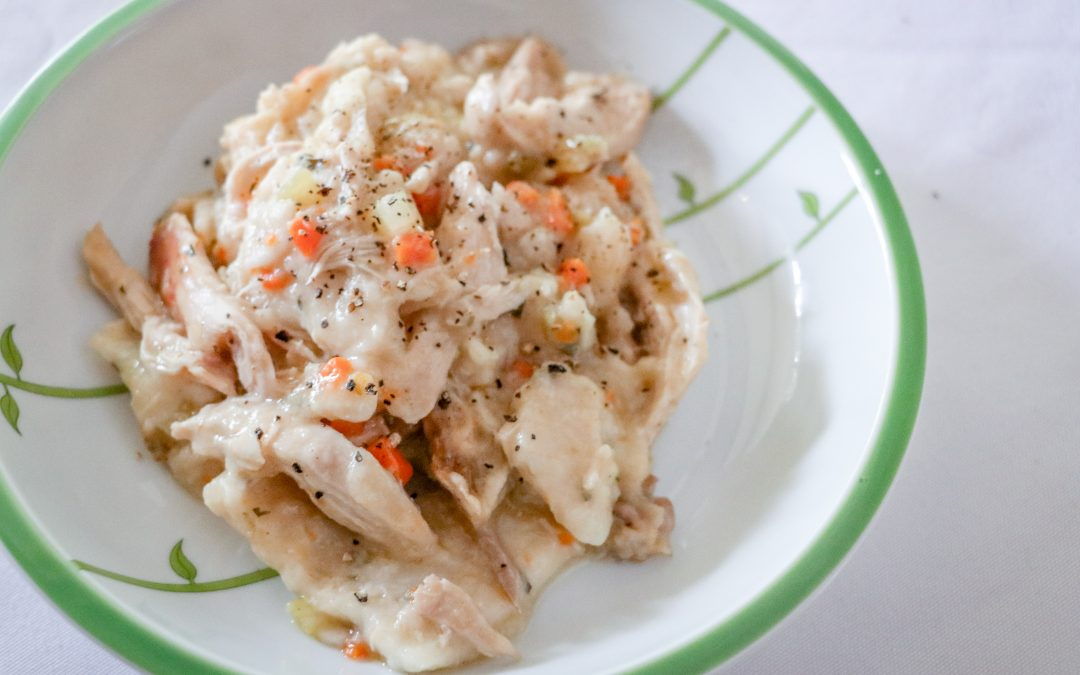 Tracy's Chicken and Herbed Dumplings