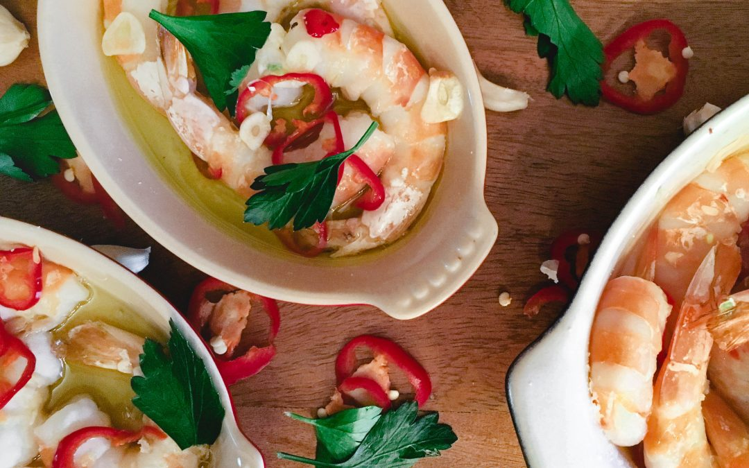 Spanish Style Shrimp and Garlic